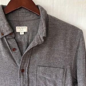 Club Monaco Light Flannel Long Sleeve Shirt